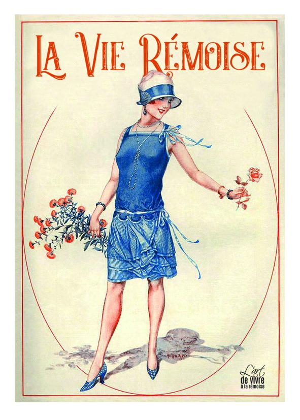 """Carte postale """"Rémoise 1920 - été"""""""