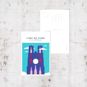 """Mockup - Carte postale """"Cathédrale été"""""""