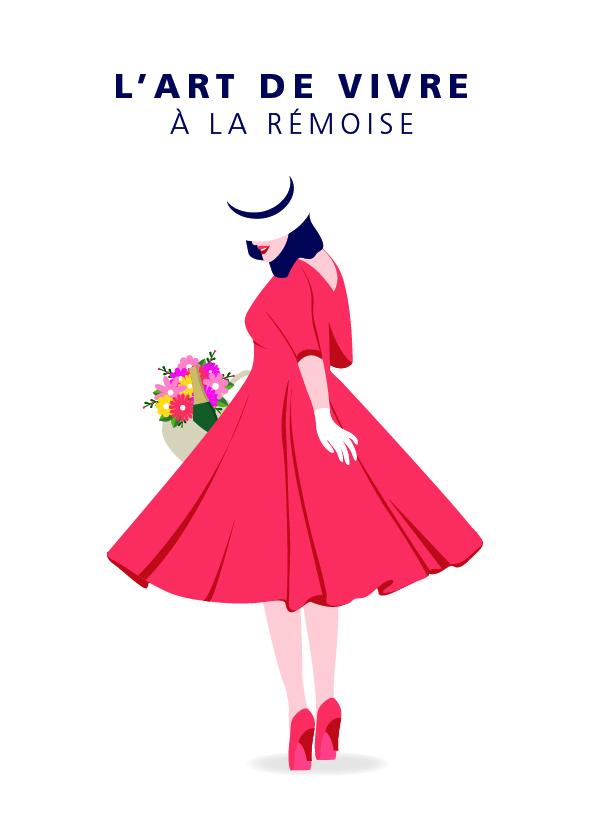 "Carte postale ""La rémoise"""